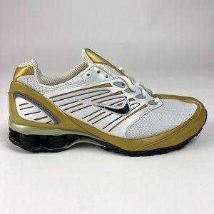 Nike Shox Go Retro Gold Running Shoes 311124-102